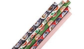 Christmas Wrapping Paper, 4 m