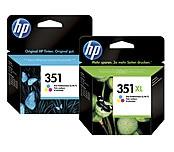 Mustepatruuna HP 350/351