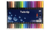 Twin Tip Fineliner Pens