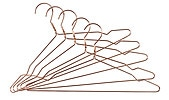 Wire Coat Hangers 5-pack