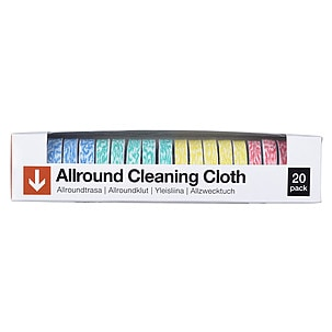 All-Round Cleaning Cloths 20-pack