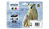 Mustepatruuna Epson T026, 26XL