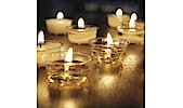 Cup Candle Tea Lights 27-pack