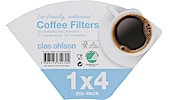 1x4 Coffee Filters, 200-pack