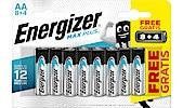 Energizer Max Plus AA/LR6 alkalisk batteri