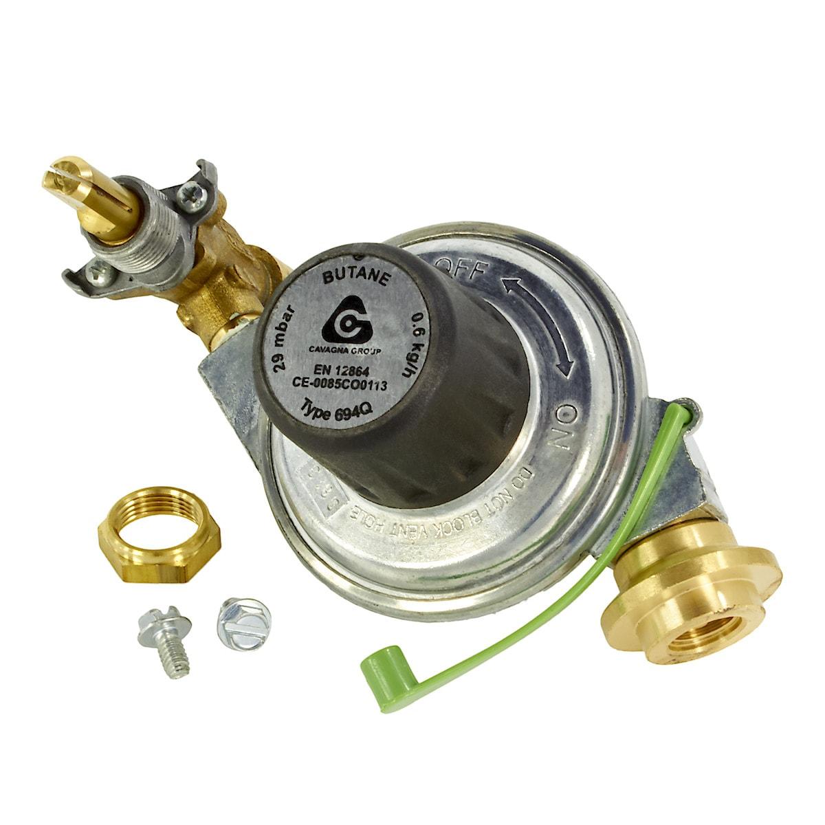 Gasregulator och ventil Weber Go-Anywhere