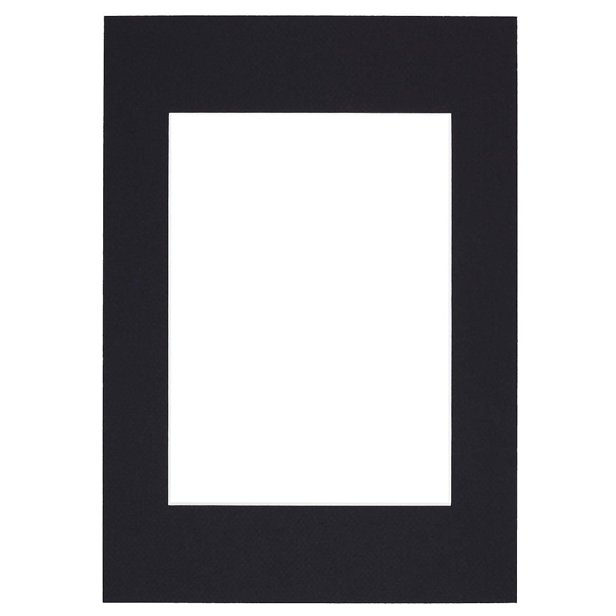 Passepartout svart