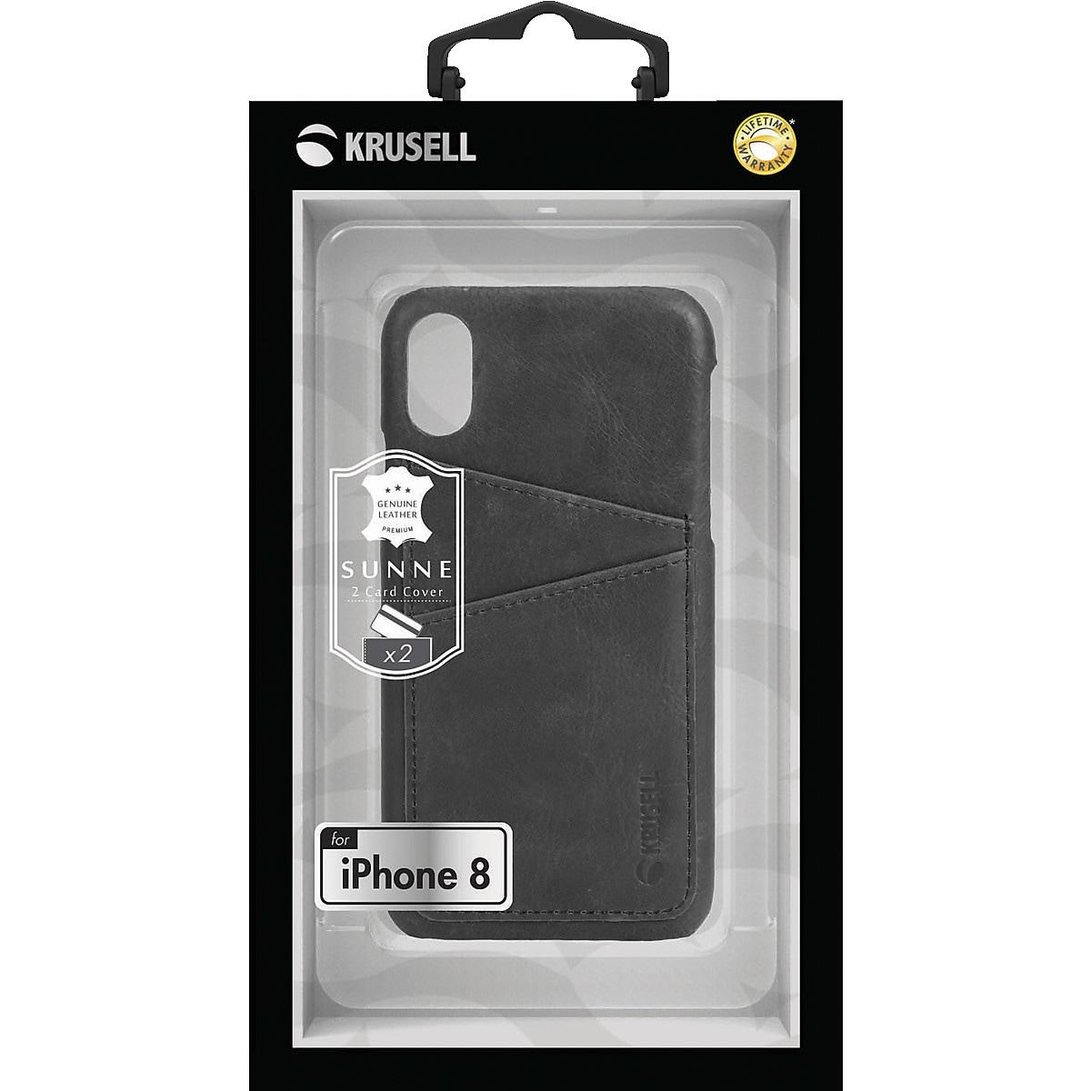 Skal för iPhone X/XS, Krusell Sunne Cover