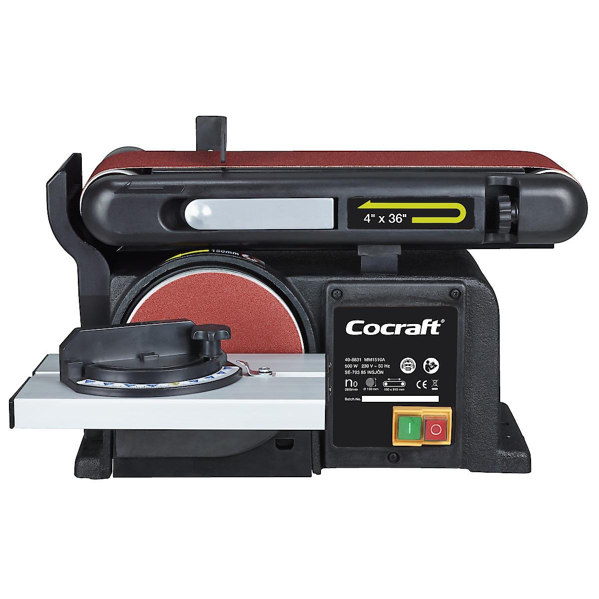 Bandslipmaskin Cocraft HBD500