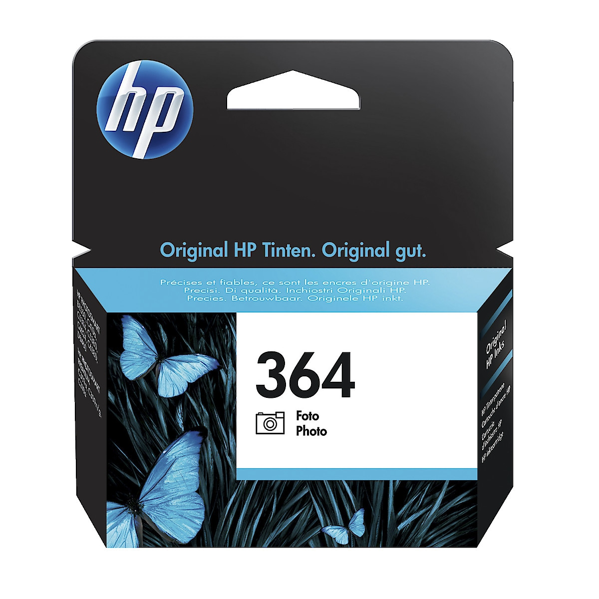 Bläckpatron HP 364 Foto-svart