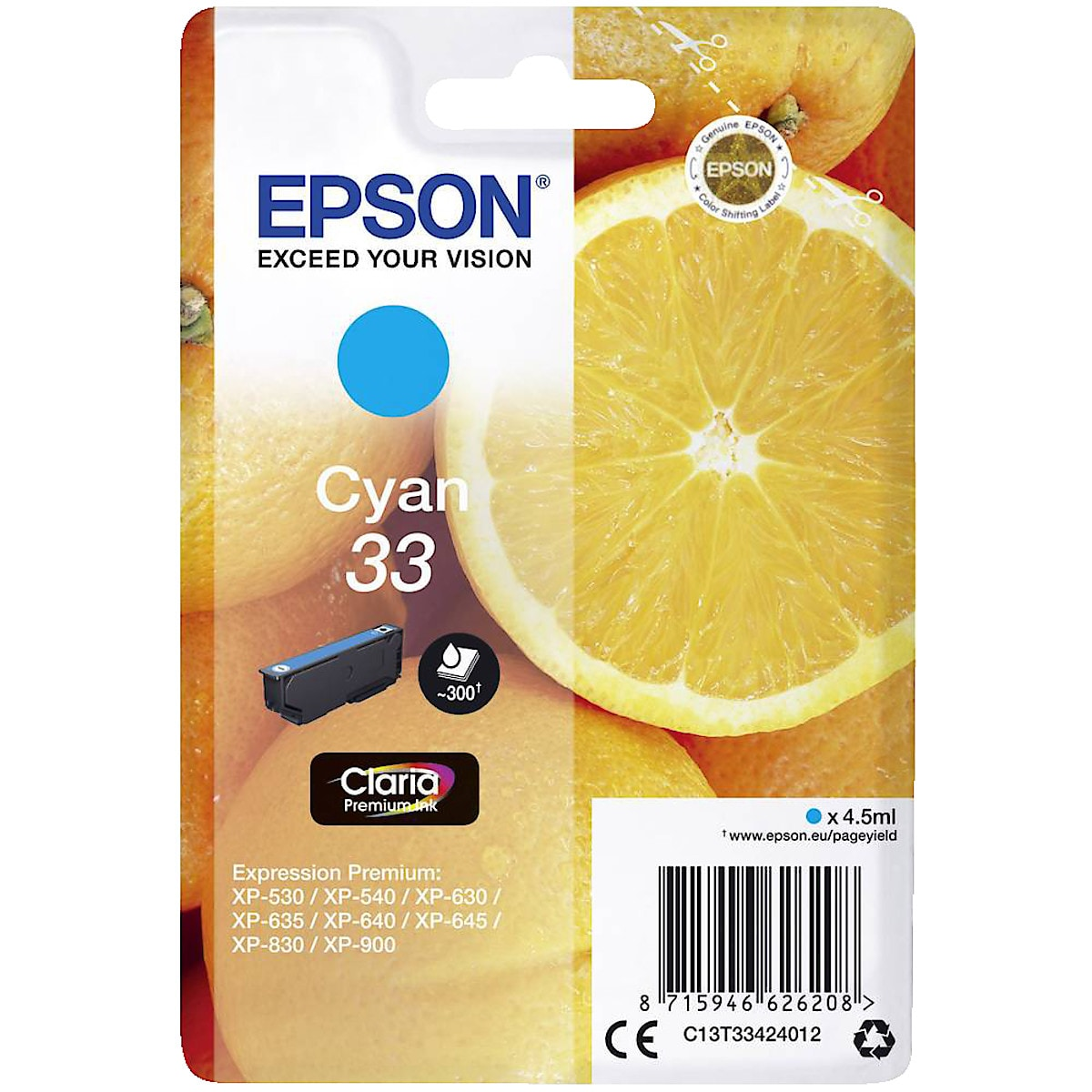 Epson 33 Ink Cartridge