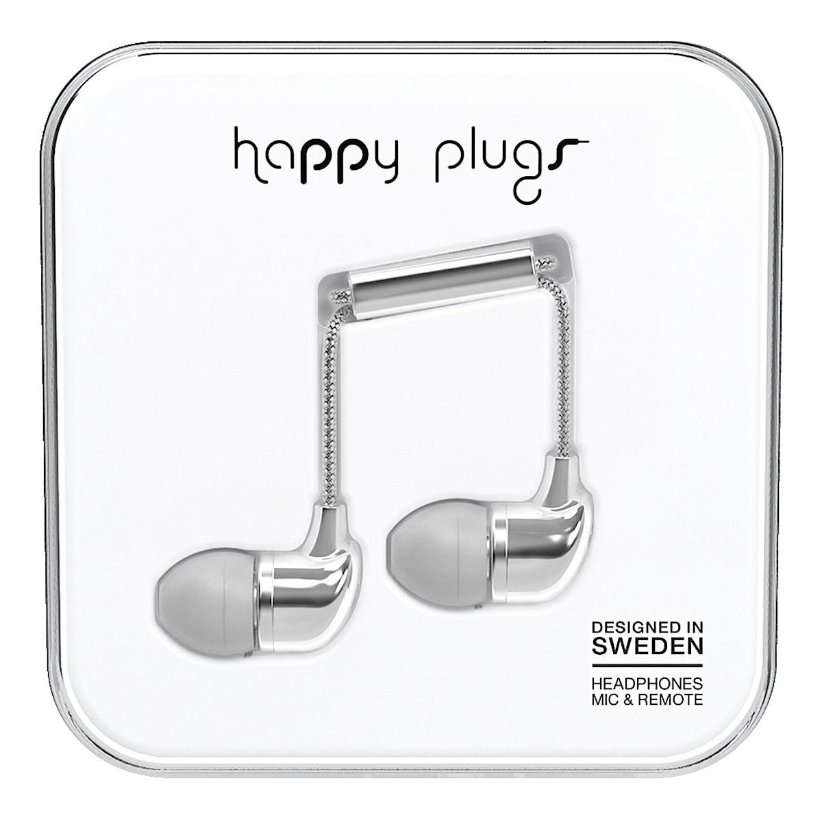 Hörlurar med mikrofon Happy Plugs In-ear Deluxe Edt