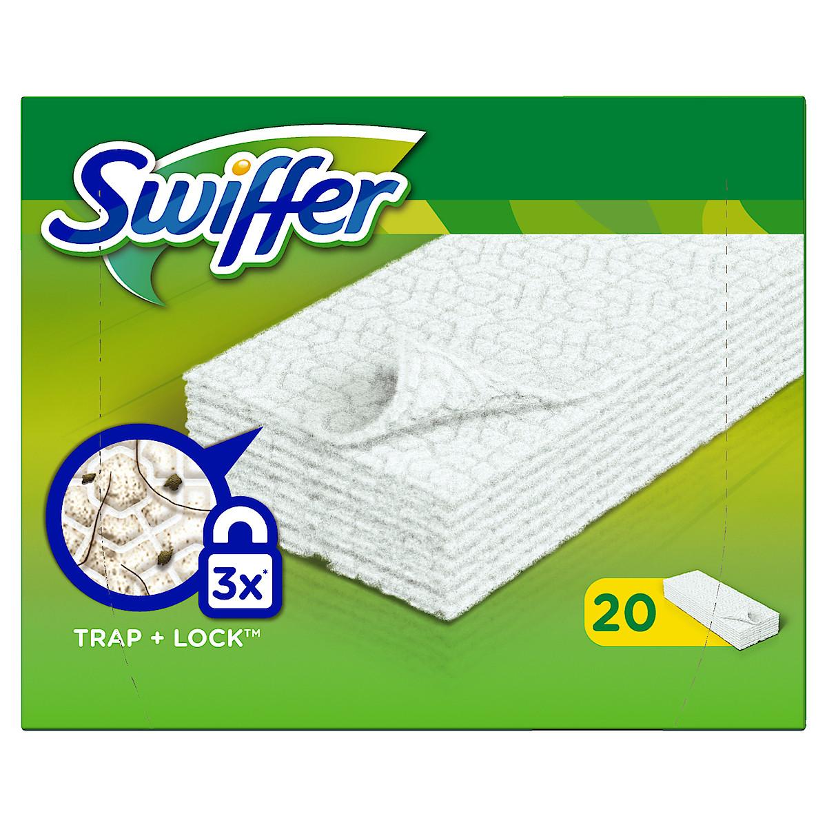 Swiffer Sweeper, refill, rengjøringskluter, 20 stk.