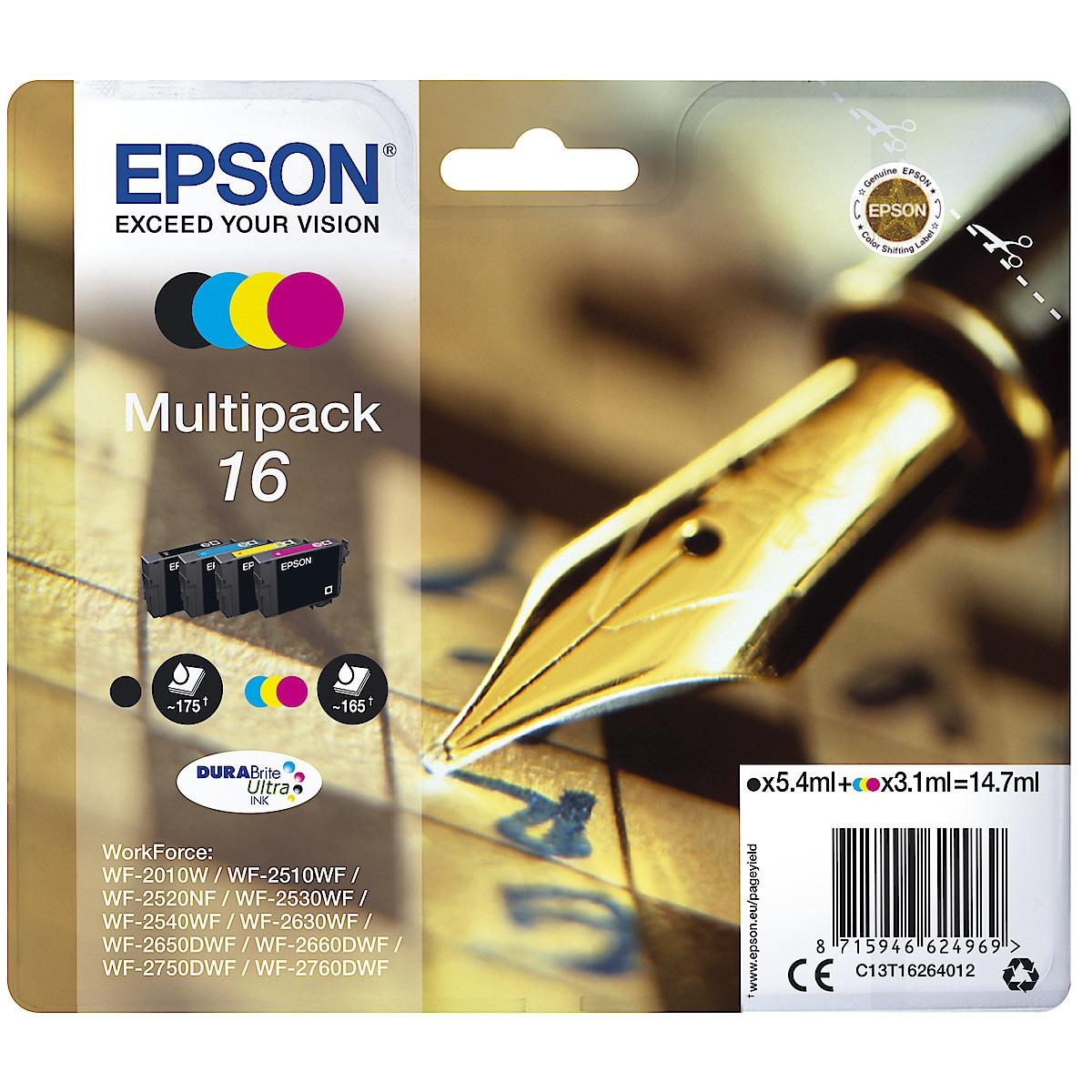 Bläckpatron Epson 16