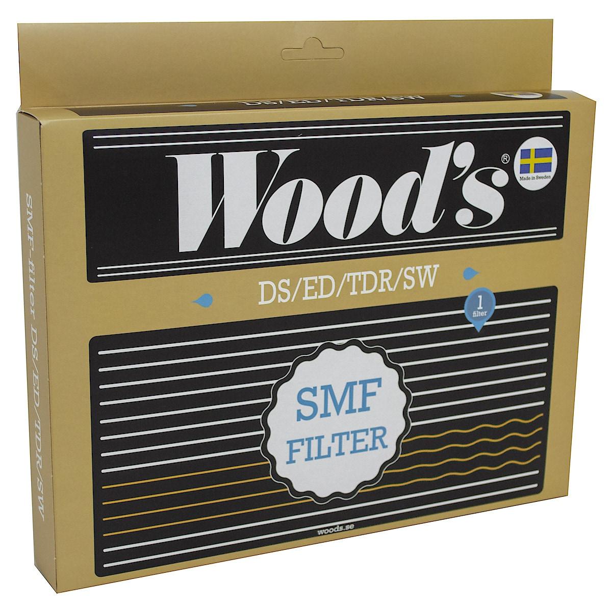 SMF-homeenestosuodatin Wood's