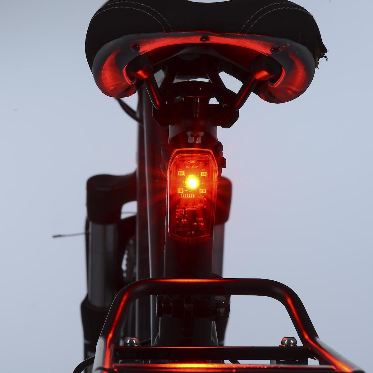 Oxford sykkelbaklys med bremselys