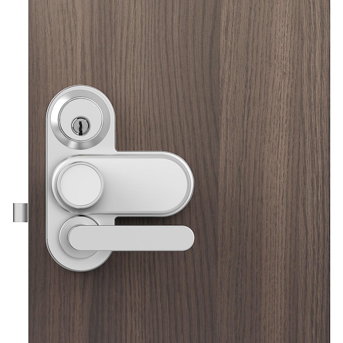Elektroninen ulko-oven lukko Glue Smart Lock, jossa Assa-ovilevy