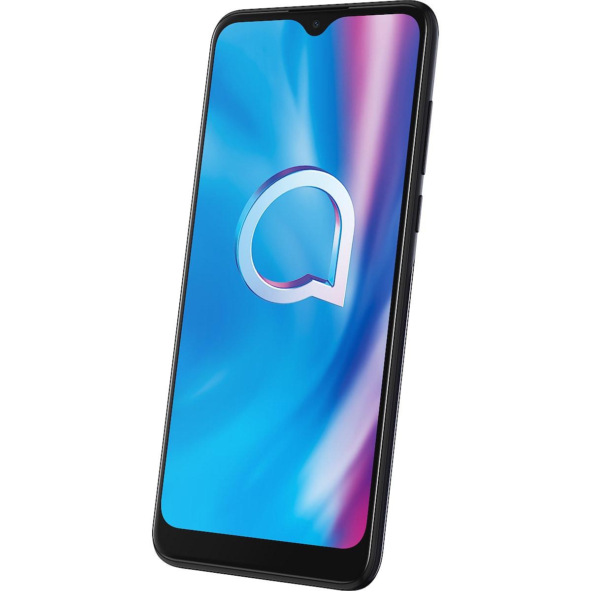 Mobiltelefon Alcatel 1S (2020), 32 GB, Dual SIM Power Gray