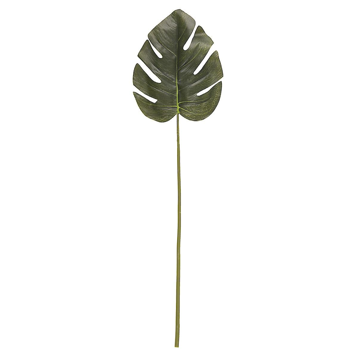 66 cm Artificial Monstera Leaf