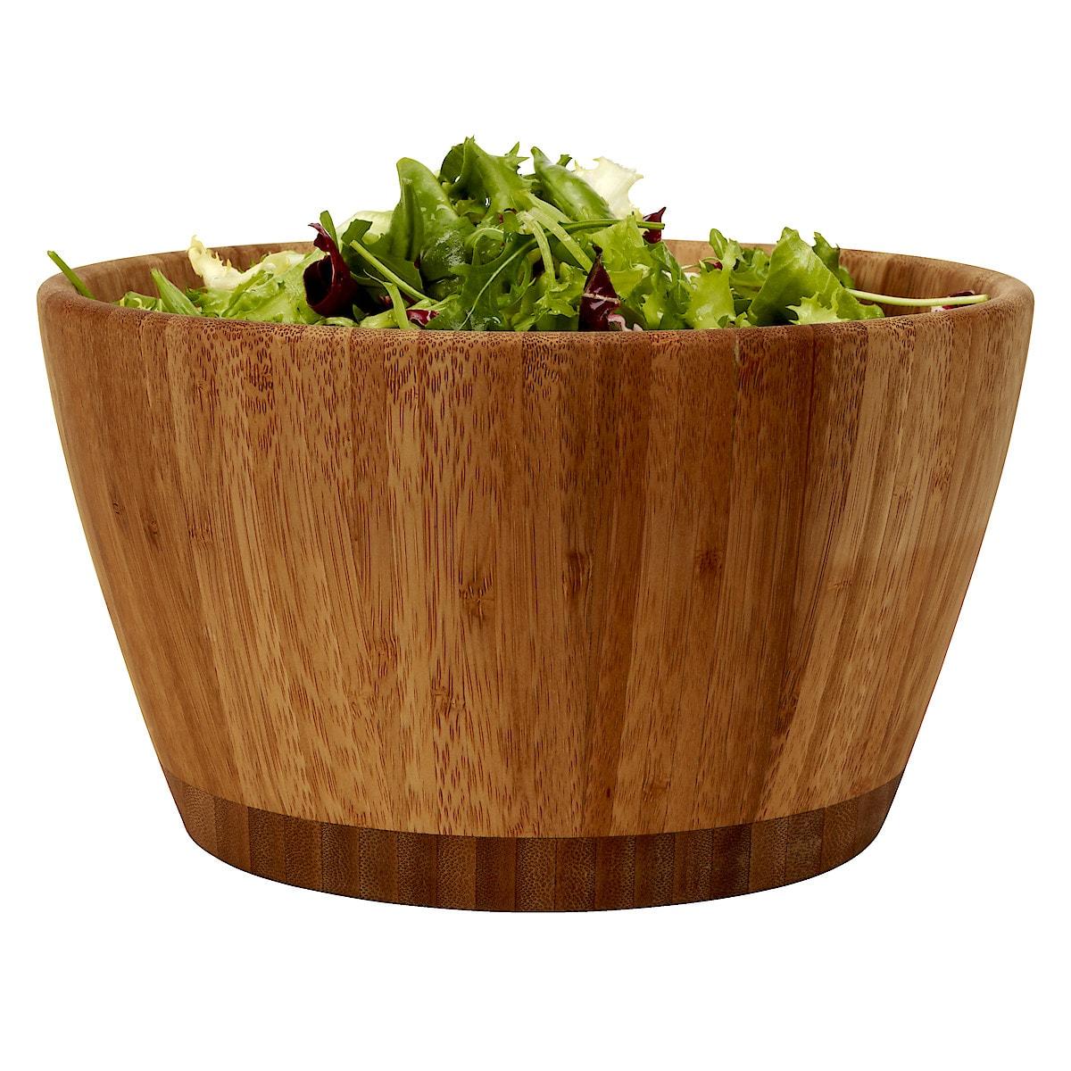 Salaattikulho ja ottimet