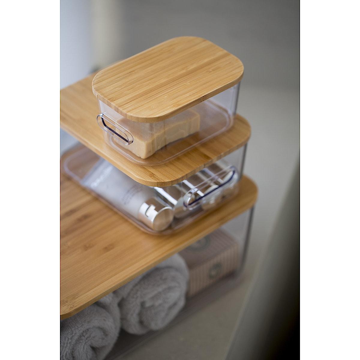 SmartStore Compact Clear bambuslokk