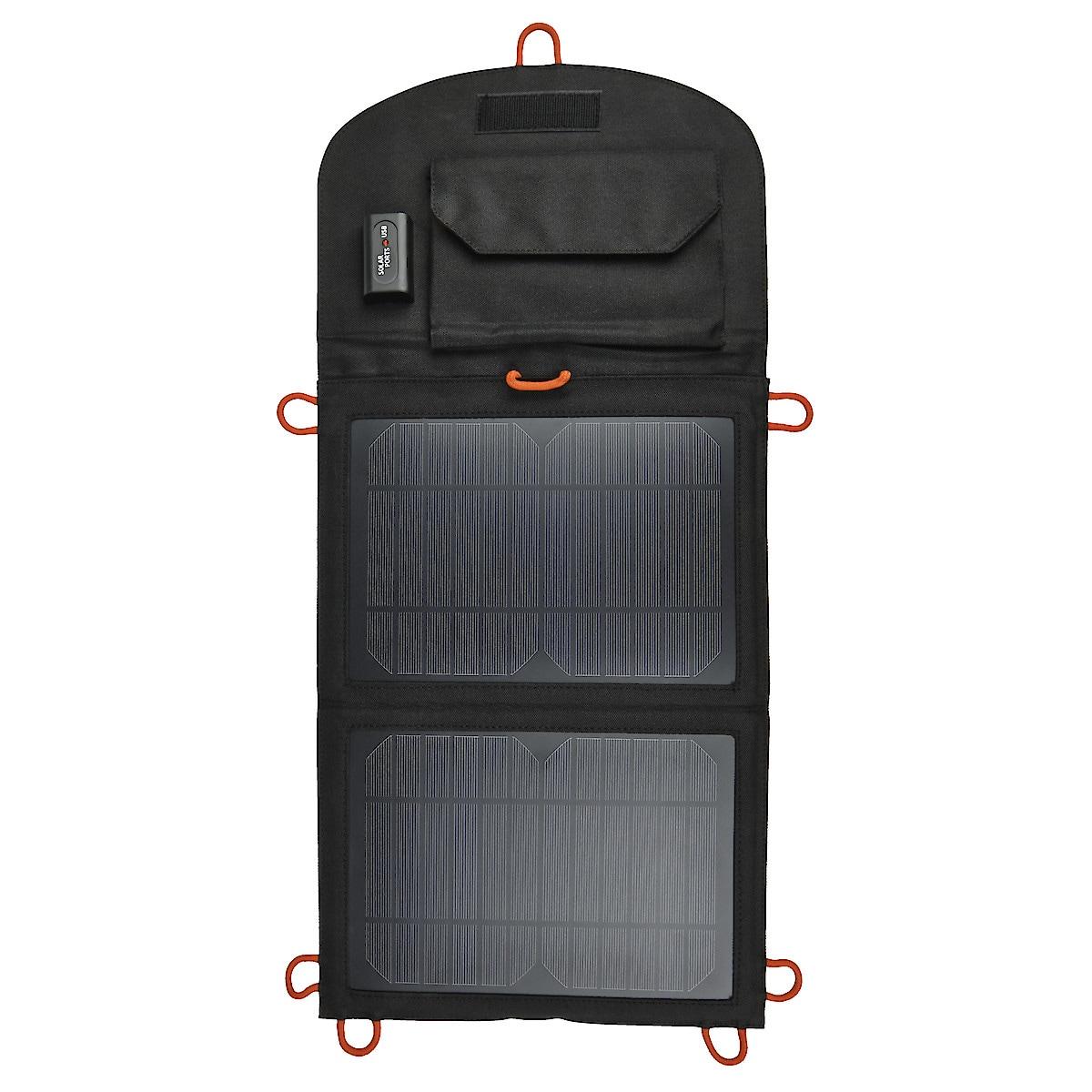 Solcellsladdare med USB 10 W Exibel