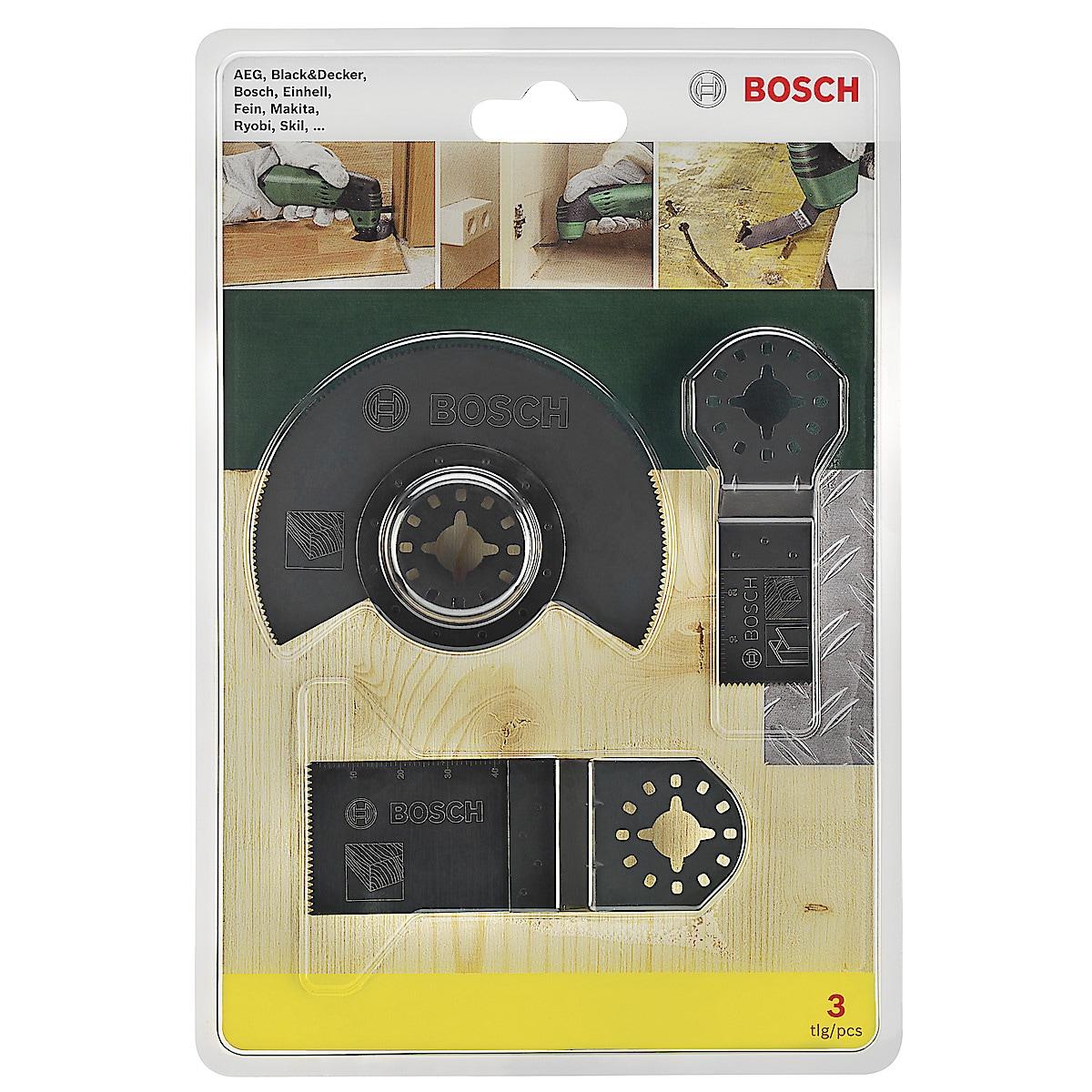 Bosch Multicuttersett, 3 deler