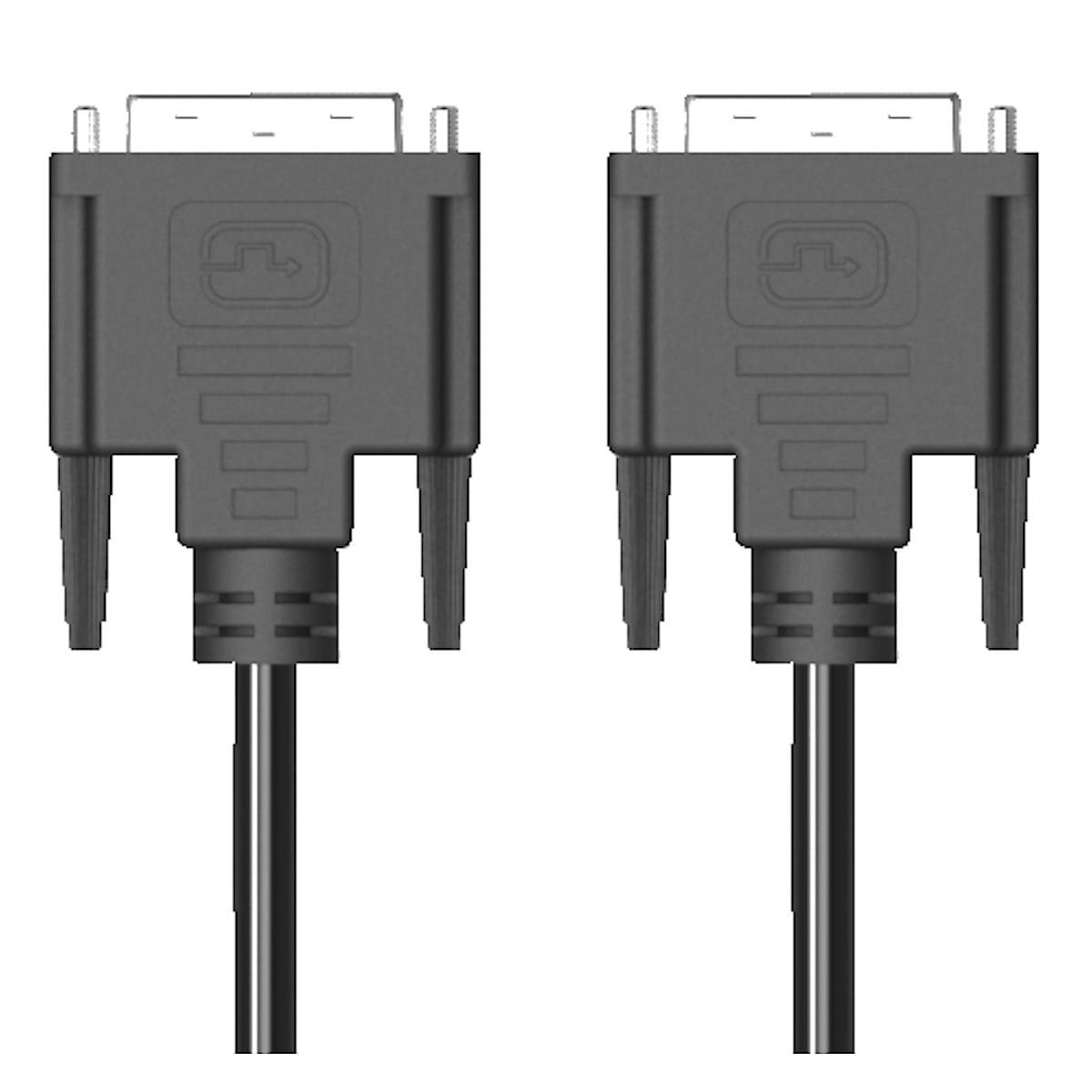 DVI-D single-link-kabel Exibel