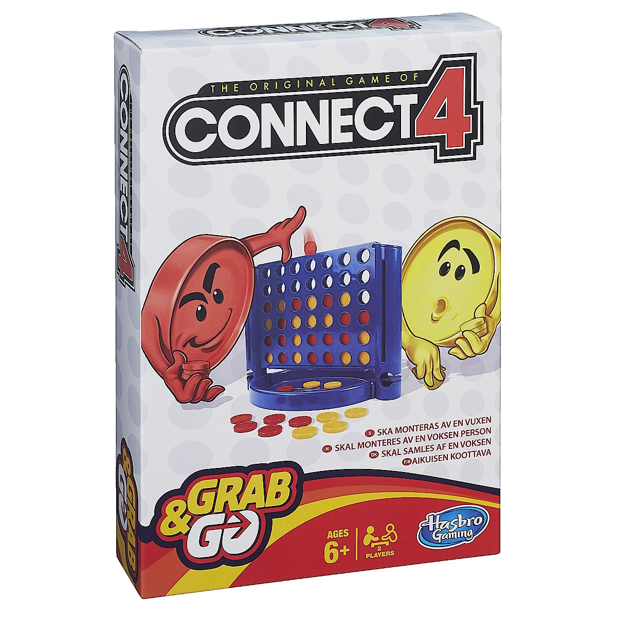 Connect 4 reisespill