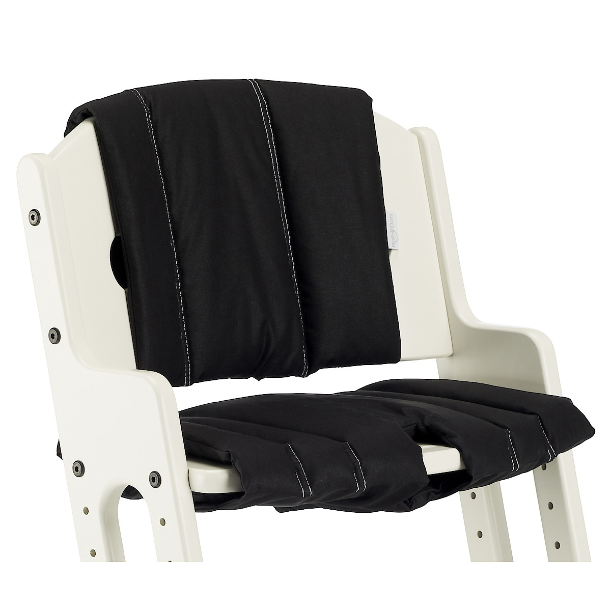 BabyDan Comfort High Chair Cushion, Black