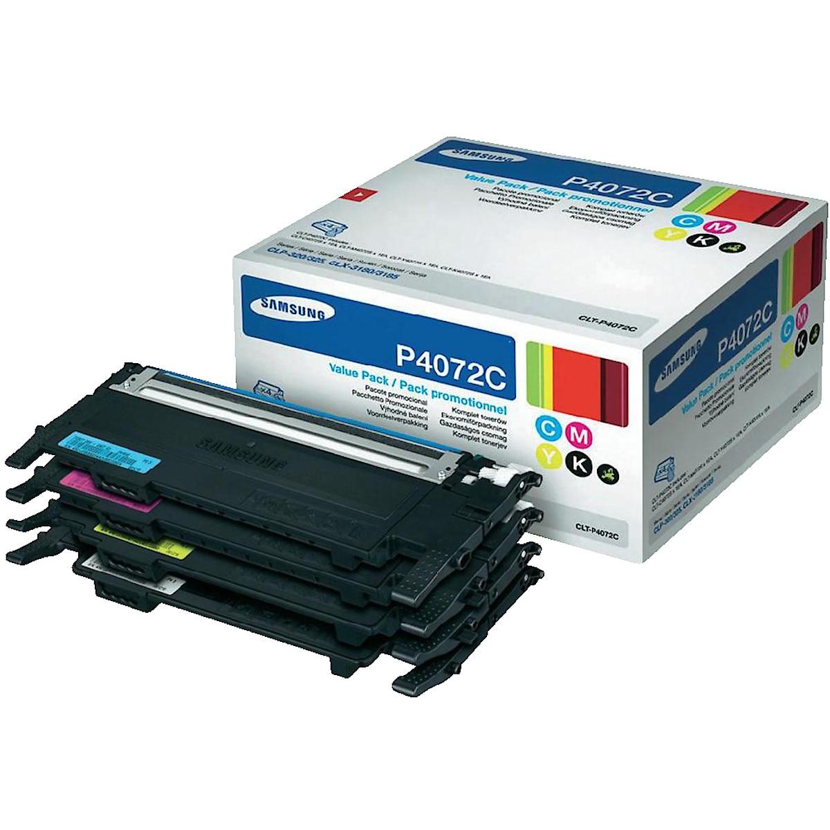 Värikasetti Samsung CLT-P4072C Rainbow Kit