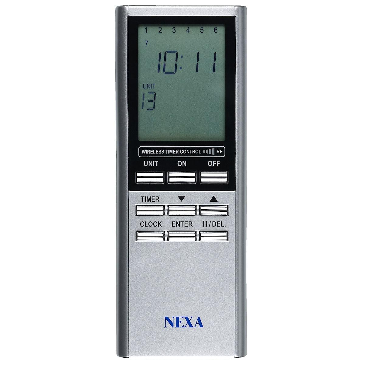 Multifjärrkontroll Nexa TMT-918