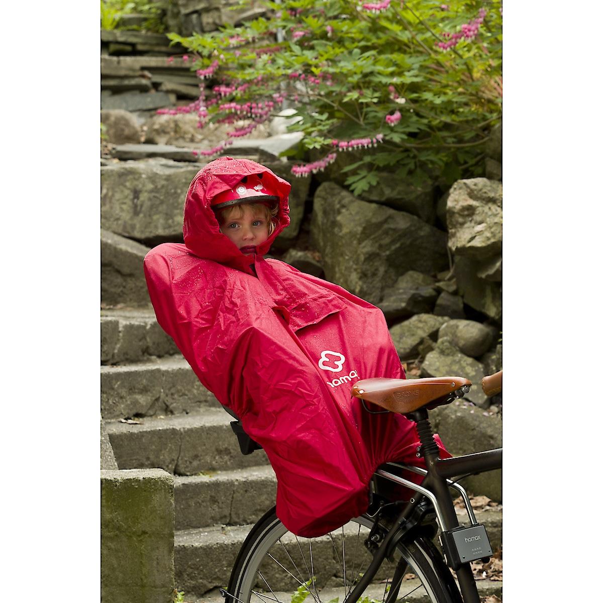 Regnponcho till cykelsits, Hamax