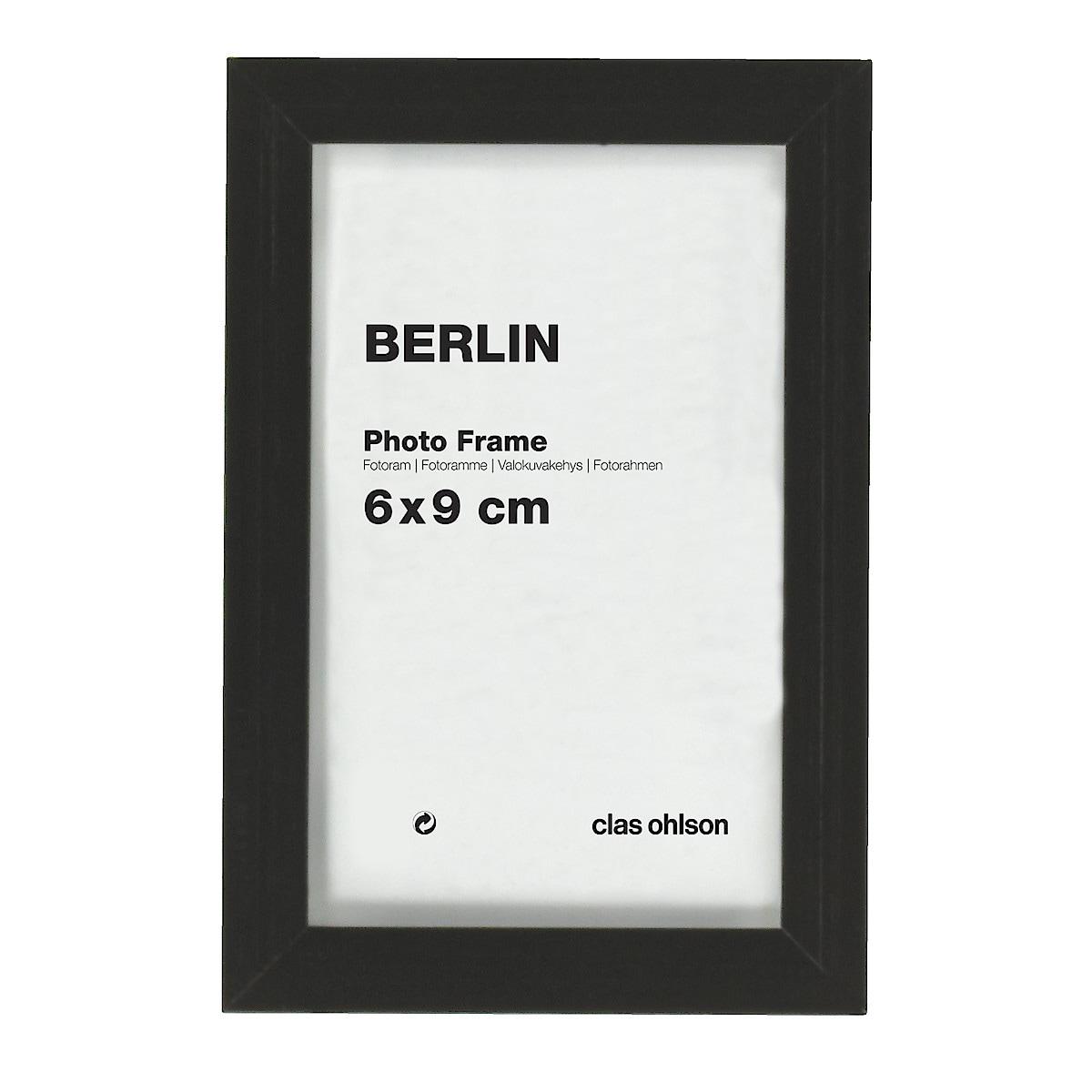Valokuvakehys Berlin, musta