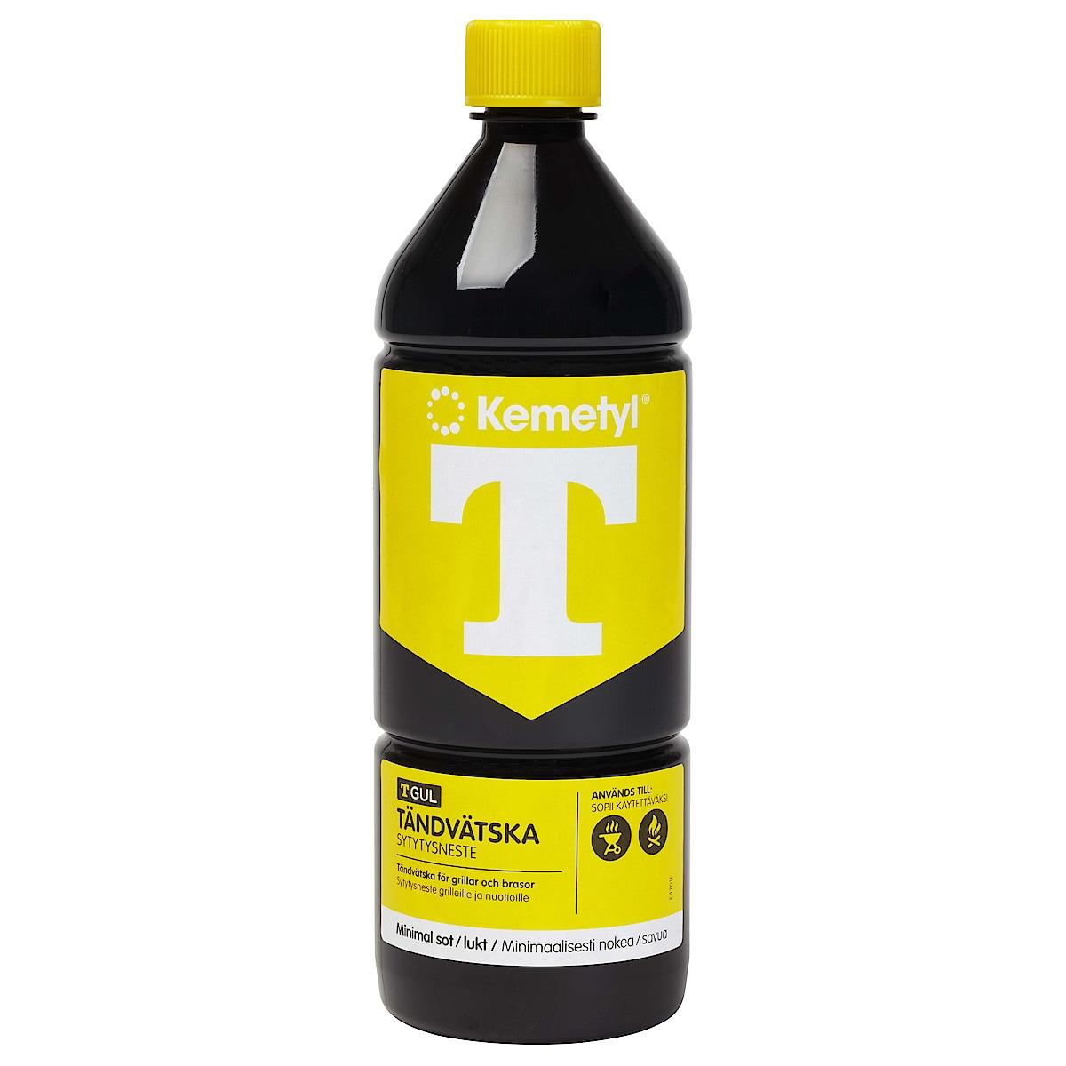 Tändvätska Kemetyl T-Gul