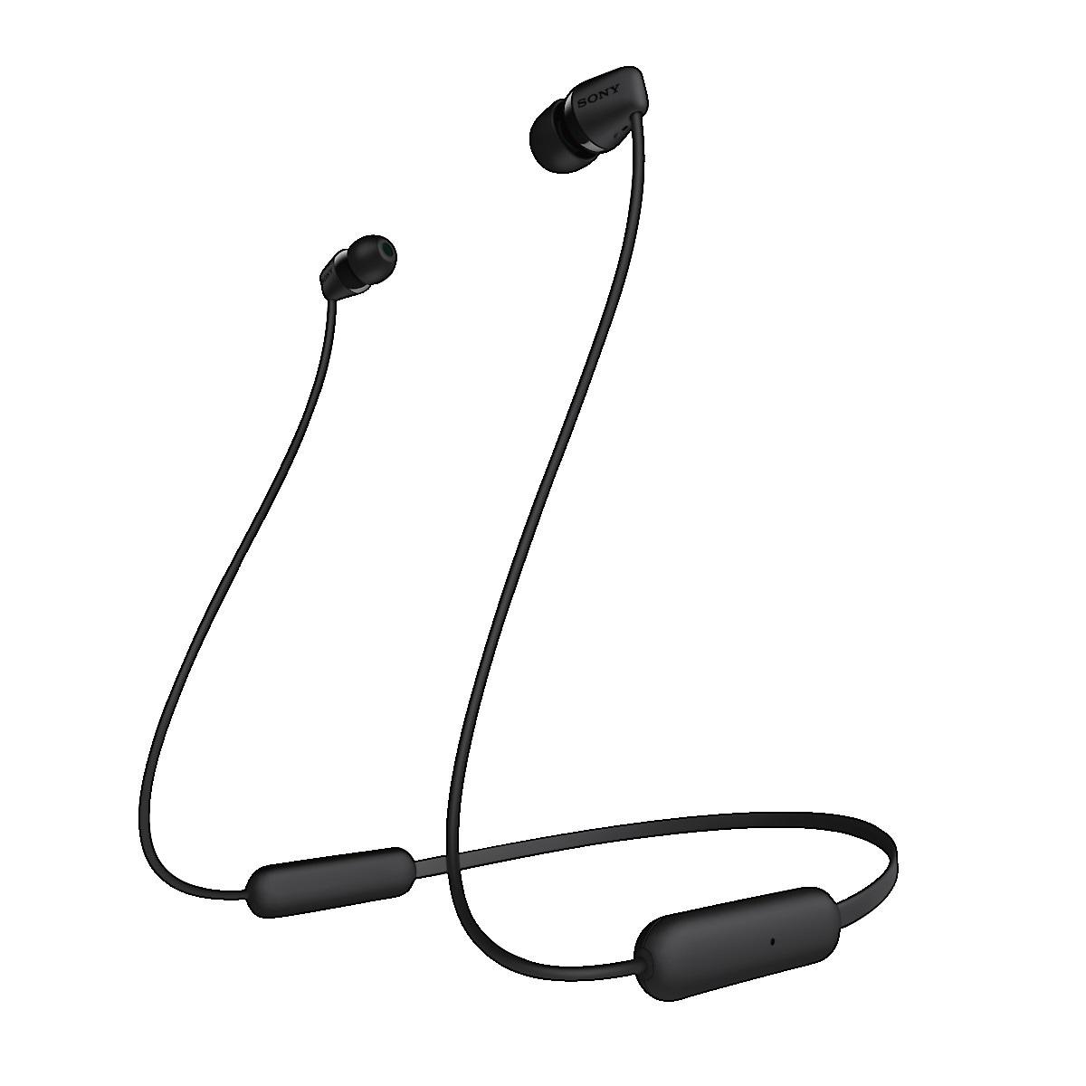 Trådlösa hörlurar med mikrofon, Sony WI-C200