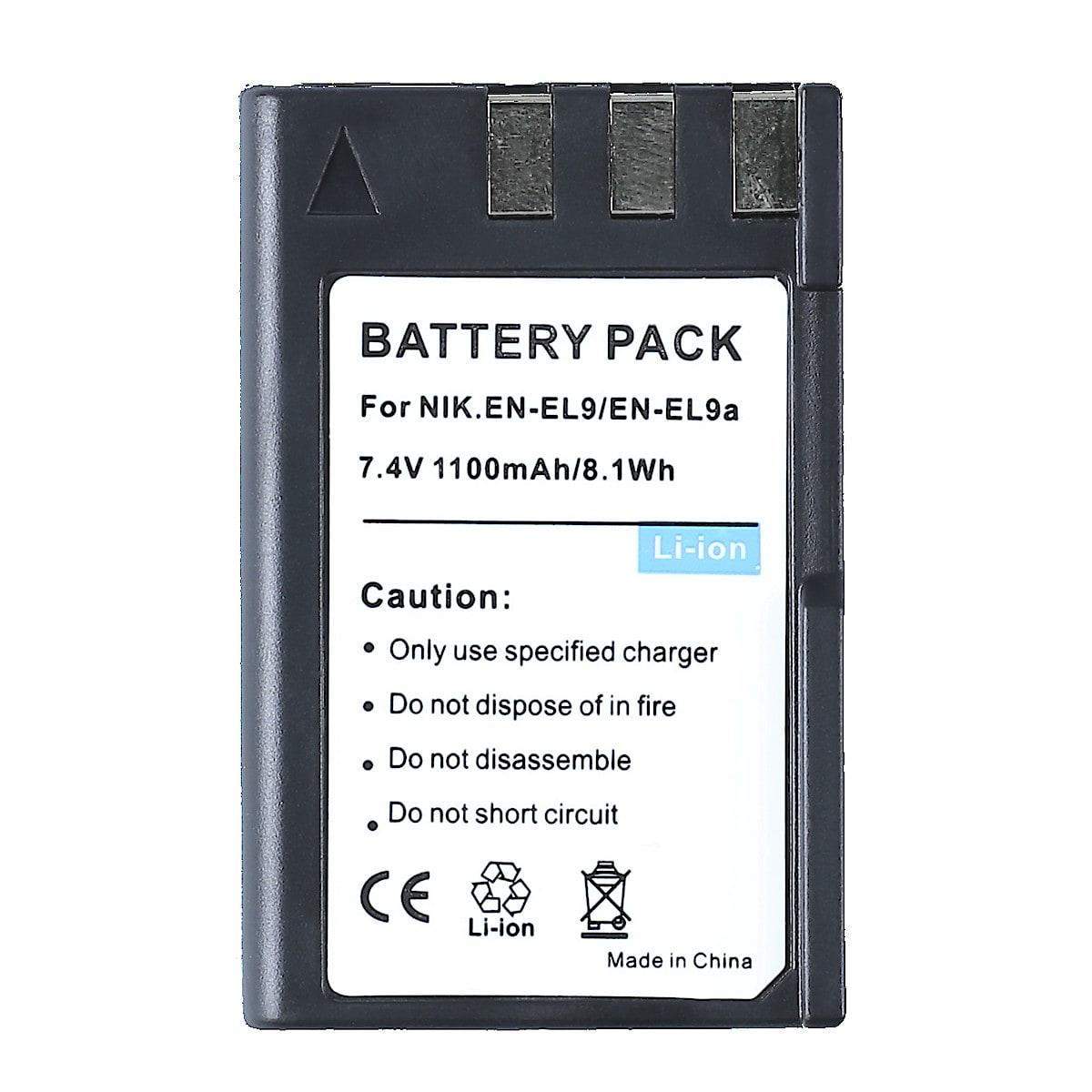 Batteri EN-EL9 för Nikon