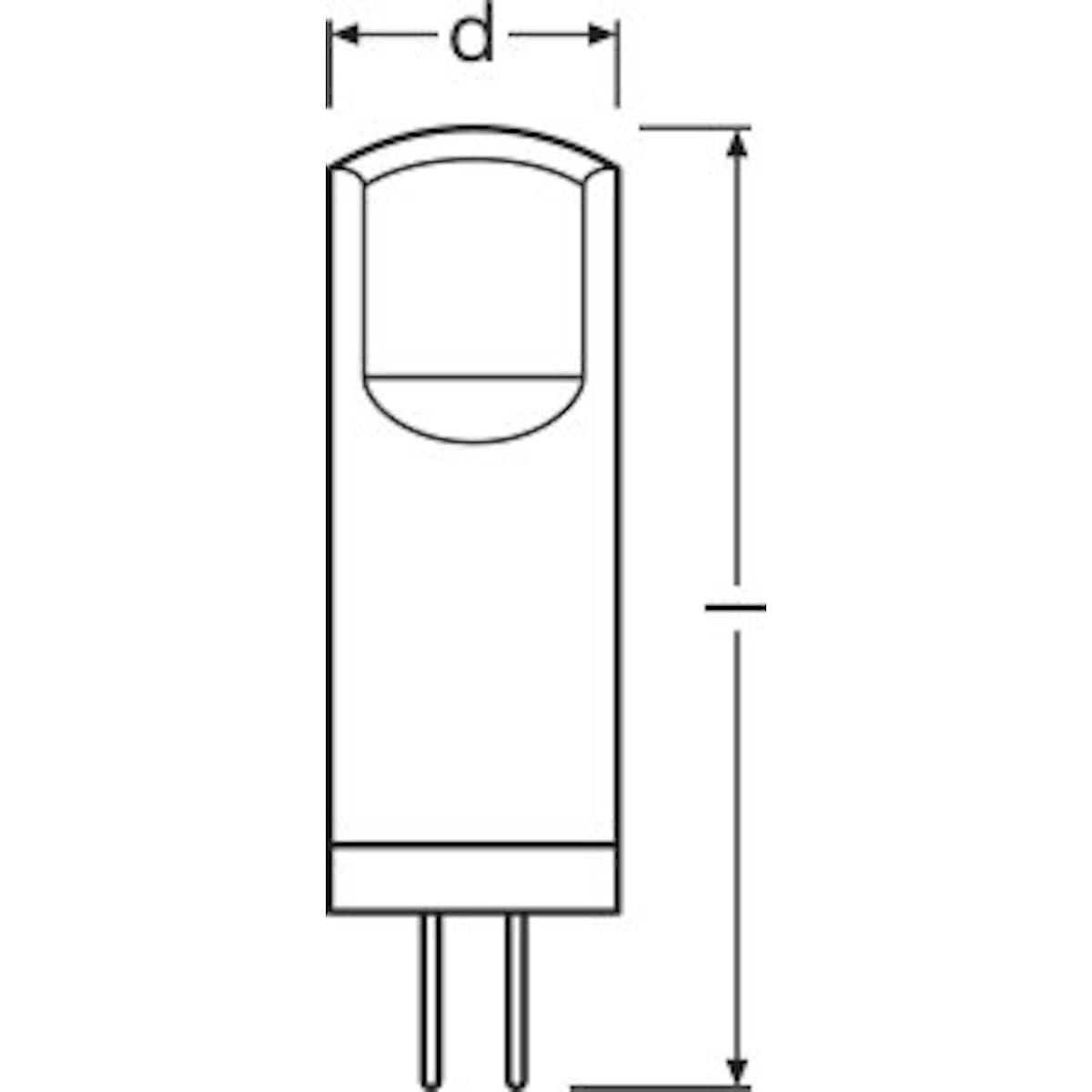 LED-lampa G4 STAR PIN 20, Osram