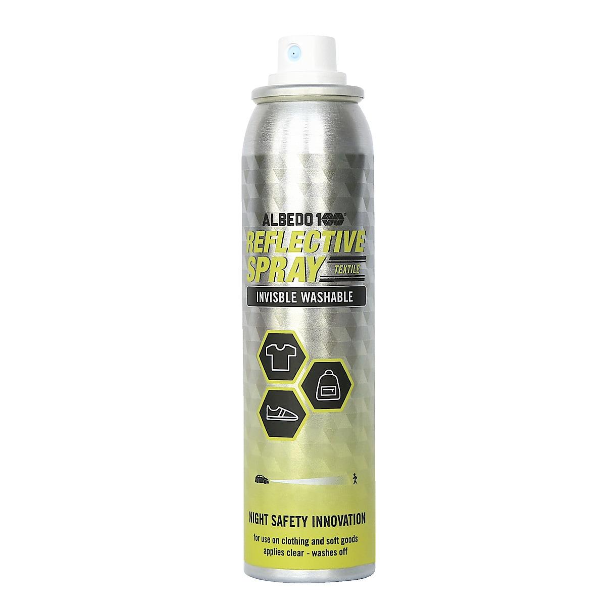 Reflekterande spray, Albedo textil