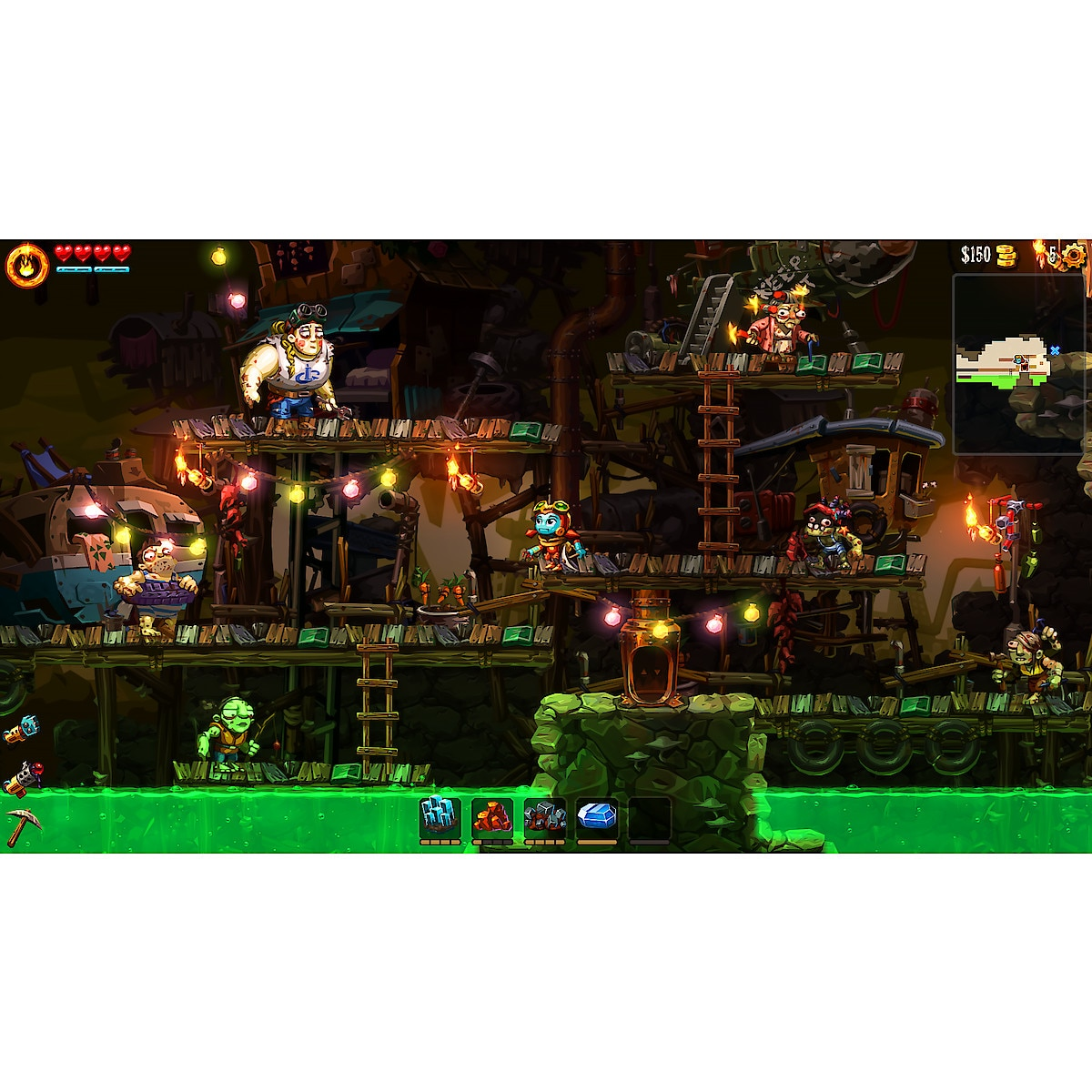 SteamWorld Dig 2 Game for Nintendo Switch