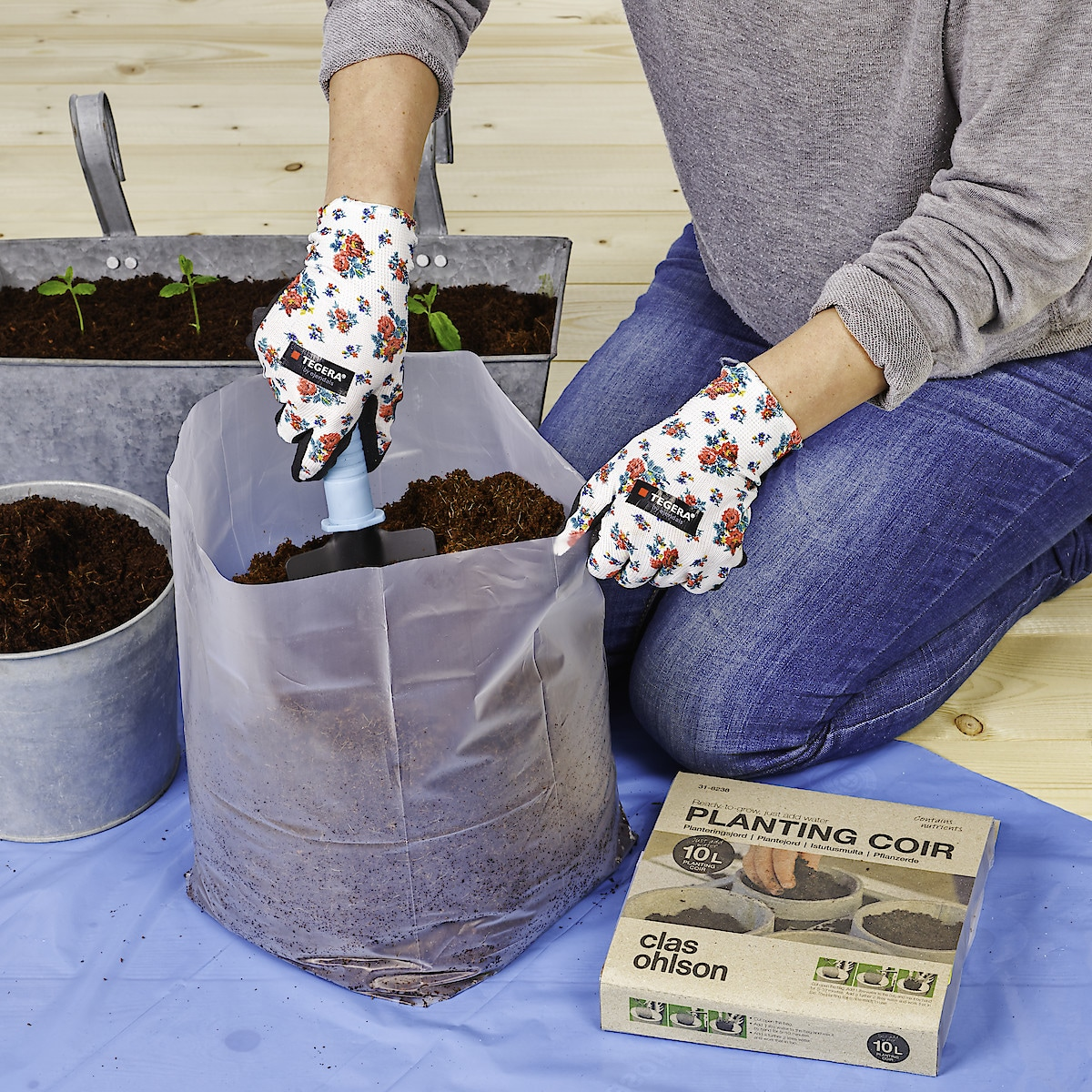 Torvfri plantejord
