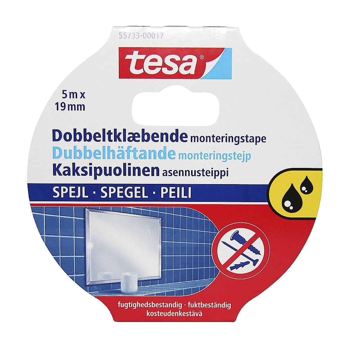 Tesa Mirror monteringsteip
