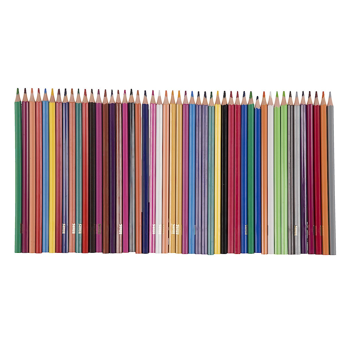 Färgpennor Sense 48-pack