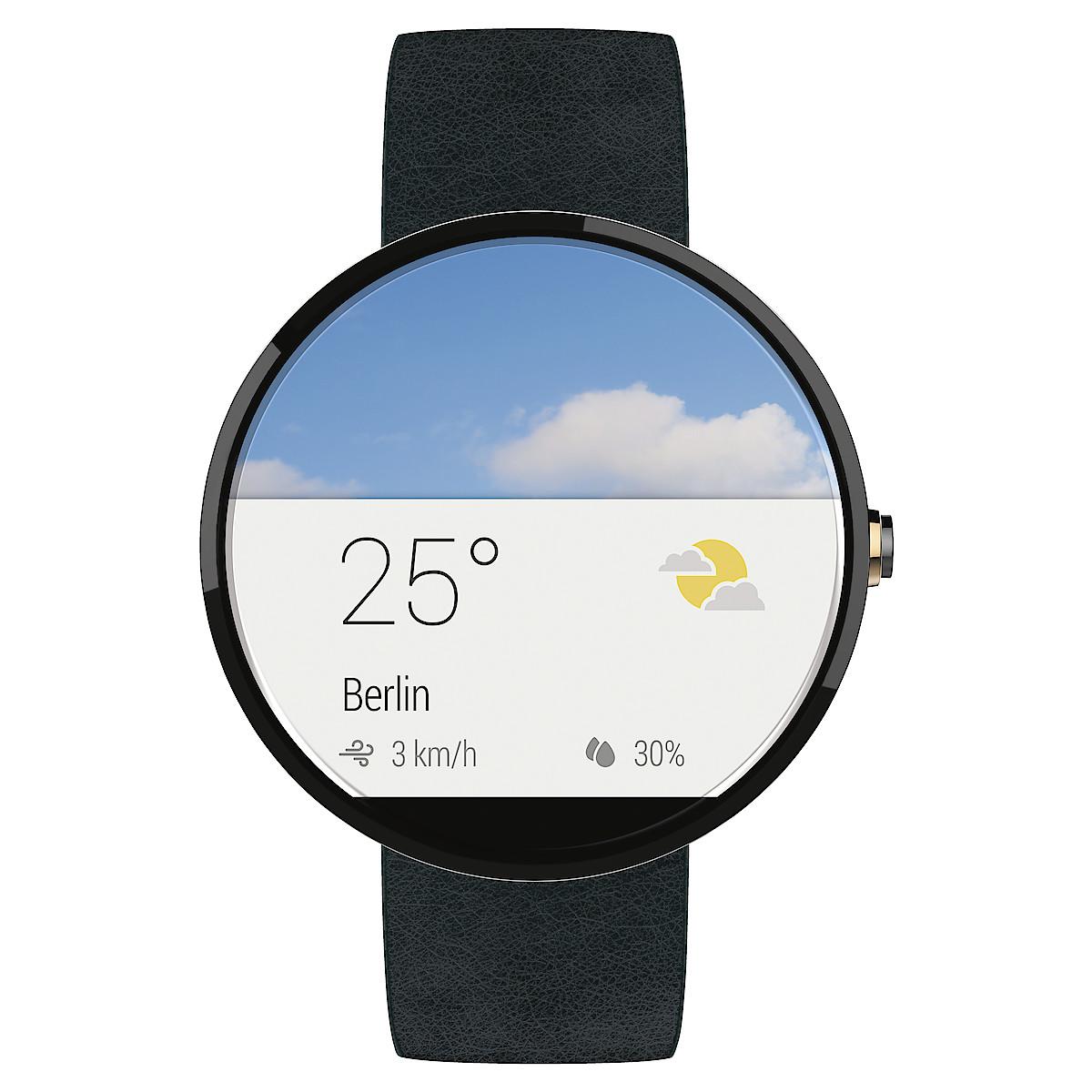 Smartklocka Motorola Moto360