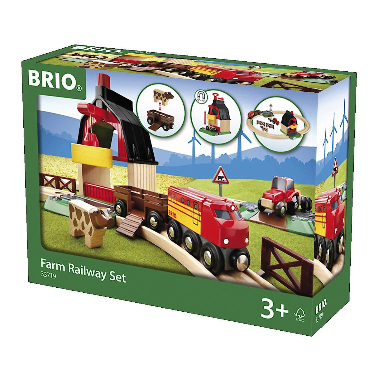 Brio klassisk togbane bondegård