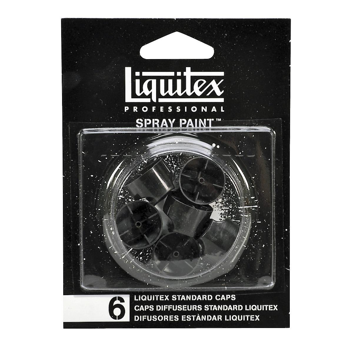 Suuttimet akryylispraymaaleille, Liquitex Proffessional