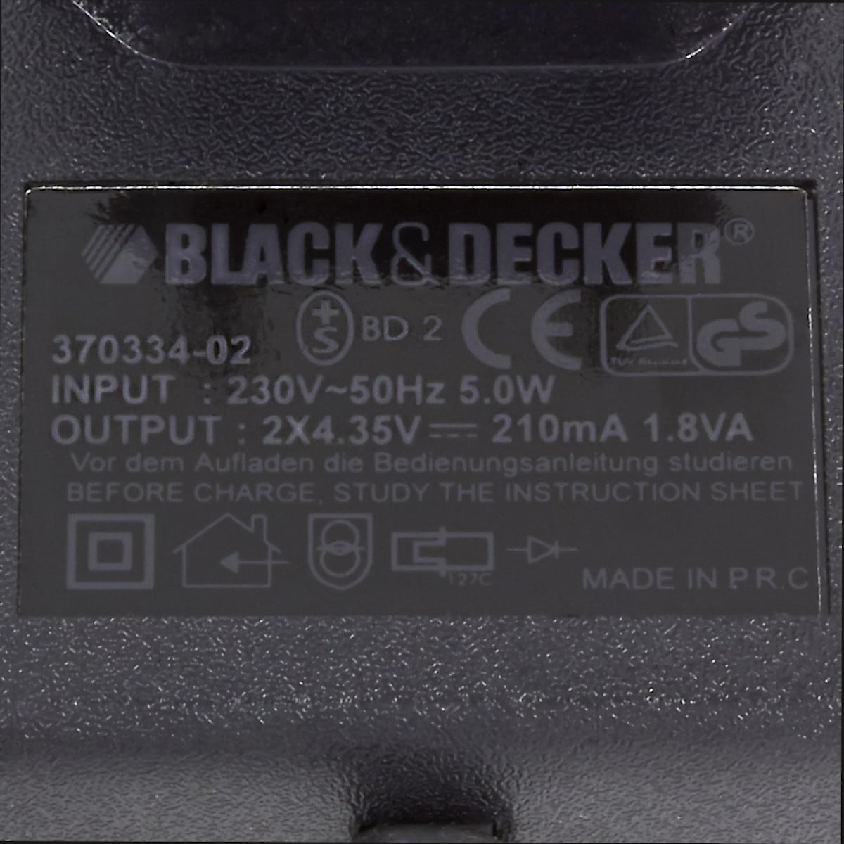 VersaPak Black & Decker 3,6 V VP120K