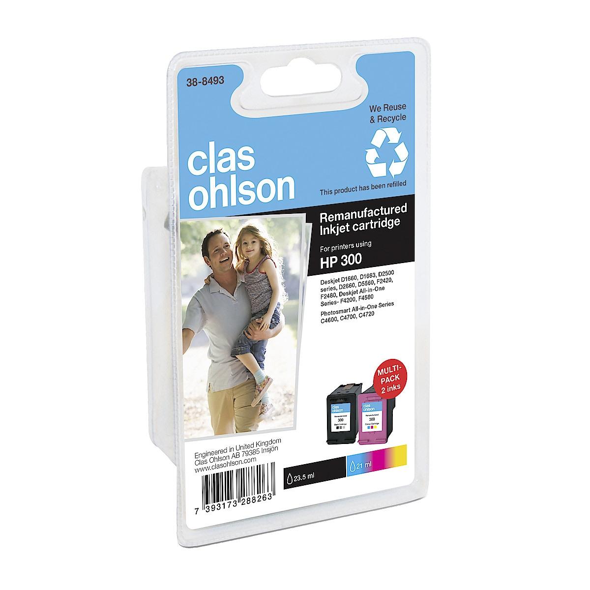 Mustepatruuna HP 300 XL Clas Ohlson