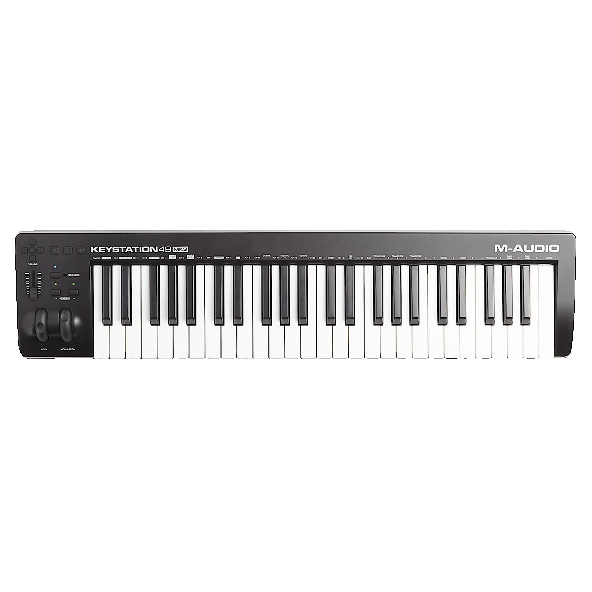 USB-kontroller Keyboard M-Audio Keystation 49 MK3