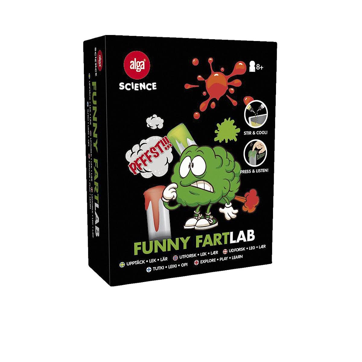 Funny Fart Lab Alga Science